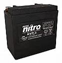 Nitro Battery sealed HVT03 (Harley 65958-04)