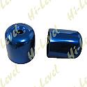 SUZUKI RGV250, SUZUKI GSX-R750L, SUZUKI GSX-R750M BAR END COVER BLUE