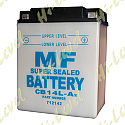 BATTERY CB14L-A2, 12N14-3A (L: 135MM x H: 167MM x W: 90MM)
