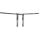 "HONDA VT750C SHADOW, VT750C2 ACE SHADOW, VT1100C SHADOW, VT1100C2 SHADOW ACE 1987-2014 HANDLEBAR 1.25"" RADIUS T-BAR CHROME"