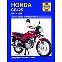 HONDA CG125 1976-2007 HAYNES WORKSHOP MANUAL