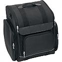 SADDLEMEN SISSY BAR BAG UNIVERSAL TEXTILE BLACK - SSR1900