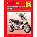 GILERA RUNNER, DNA, ICE/SKP/STALKER (1997-2007) WORKSHOP MANUAL