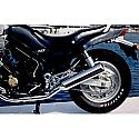 Yamaha FZX750, FZX700 Silencers - Original Style - Chrome