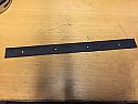 """SILENCER HANGING BRACKET 4"""" (101mm)  RUBBER DAMPER IN BLACK"""