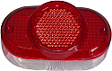 Rear Light Lens Honda C100 Early
