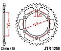 1258-54 REAR SPROCKET CARBON STEEL