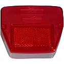 Yamaha RD50, DT50, TY50M REAR LIGHT LENS.