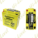 MOTOBATT BATTERY MB5U FULLY SEALED CB5LB, 12N5-3B (10)