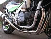 KAWASAKI ZXR750H1 89- DOWN PIPE ASSY IN POLISHED STAINLESS