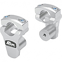 ROX SPEED FX 44.5 MM PIVOTING HANDLEBAR RISER FOR 28.6 MM BAR CLAMPS - ALUMINUM NATURAL