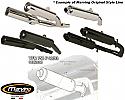 Honda VFR750 F 90-93 Silencer - Original Style - Black & Aluminium