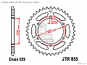 855-48 REAR SPROCKET CARBON STEEL