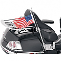 HONDA GL1800 GOLDWING, GL1800 ABS GOLDWING, GL1800 ABS GOLDWING AIRBAG, GL1800 GOLDWING AUDIO COMFORT 2001-2017 KURYAKYN ANTENNA FLAG MOUNT WITH FLAG