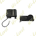 IGNITION COIL 12V CDI SINGLE FOR AM6 ENGINE 4 PIN + 1 WIRE