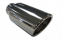 "TAIL PIPE 3.5"" In Rolled Slash Cut 89mm (3 inch) In Rolled Slash Cut tail with Double skin. Length 190mm. 56mm inlet"