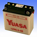 12N5.5-4B BUDGET 12V MOTORCYCLE BATTERY