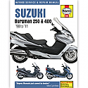 Suzuki AN250 (98-01) AN400 (99-11)  WORKSHOP MANUAL