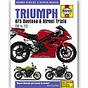 TRIUMPH 675 DAYTONA, TRIUMPH 675 STREET TRIPLE 2006-2010 WORKSHOP MANUAL