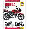 Honda CBF125 M9,MA,MB,MD (09-14) WORKSHOP MANUAL