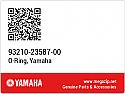 YAMAHA RD125 FRONT FORK O RING 93210-03587