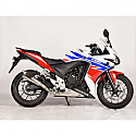 HONDA CB500F, HONDA CB500F ABS, HONDA CBR500R, HONDA CBR500R ABS, HONDA CB500X, HONDA CB500X ABS 2013-2016 FORCE SLIP-ON MUFFLER STAINLESS STEEL