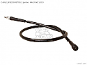 Honda XR200 CB250 RS CM450 CB650 Speedo Cable P/No 44830KC1010