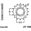 1590-13 FRONT SPROCKET CARBON STEEL