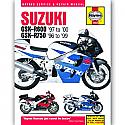 SUZUKI GSXR600, SUZUKI GSXR750 1996-2000 WORKSHOP MANUAL