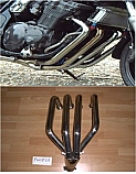 SUZUKI GSX750 W,X 1997-ON JS1AE-FRAME No MODELS 4-1 DOWNPIPES & COLLECTOR