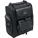 SADDLEMEN SISSY BAR BAG EXPANDABLE TEXTILE BLACK - S2200E