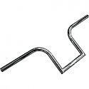"LA CHOPPERS 1"" NARROW BOURBON APE BARS 8"" RISE CHROME UNIVERSAL"