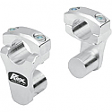 ROX SPEED FX 50.8 MM PIVOTING HANDLEBAR RISER FOR 28.6 MM BAR CLAMPS - ALUMINUM NATURAL
