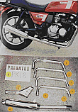KAWASAKI GT550 ALL 84-02 SYSTEM ROAD IN POLISHED STAINLESS