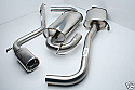 ALFA ROMEO GTV V6 (UPTO-02) STAINLESS STEEL EXHAUST SYSTEM with 120mm X 90mm Oval Tail Pipe