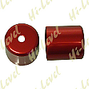 SUZUKI GSXR600, SUZUKI GSXR750T, SUZUKI GSXR750V BAR END COVER RED