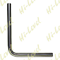 STAINLESS STEEL 201 PIPE OD 48.5mm, ID 45.50mm STRAIGHT & 90