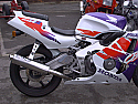 CBR900 RR FIREBLADE HONDA RRT,RRX 1995-1998 EXHAUST SYSTEM ROAD LEGAL