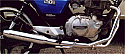 HONDA CB125T (Not superdream) upto 1982 Predator falcon 2-1 Exhaust System