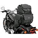 SADDLEMEN DRESSER BACK SEAT SISSY BAR BAG SYNTHETIC LEATHER BLACK - BR3400EX