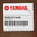 93450-31114-00 Circlip, Inner, Yamaha YP150D MAJESTY.