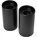"""LA CHOPPERS 50,8 MM (2"""") RISER FOR 25,4 MM (1"""") HANDLEBARS FLAT BLACK UNIVERSAL"""