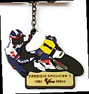 Legends, Freddie Spencer #1 MOTOGP KEY RING