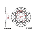269-36 REAR SPROCKET CARBON STEEL