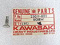 Kawasaki  NEW 23019-022 Pan Head Screw 5x14 Z1 H1 H2 S1 S2 S3 KH KZ 1969-98