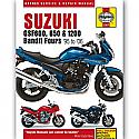Suzuki GSF600, 650/1200 Bandit Fours (95-06) WORKSHOP MANUAL