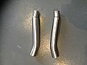 "TRIUMPH DAYTONA 900 & 1200 1993-96 SILENCER LINK PIPES 50.8mm (2"") O/D (PAIR)"