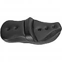 HARLEY DAVIDSON FLHR 2-UP HEATED SEAT ROAD SOFA PT HEATED FRONT REAR VINYL SADDLEGEL™ BLACK