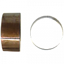 FORK BUSHINGS OD 37.60mm x ID 35.60mm x W 20.00mm x T 1.00mm (PAIR)