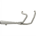 H/D FXR EXHAUST SYSTEM 2-INTO-1 HIGH-EXIT MEGAPHONE POLISHED